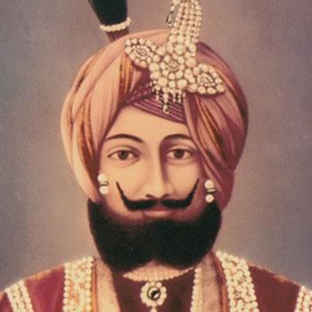 Ruler of Kashmir, Maharaja Gulab Singh in 1846