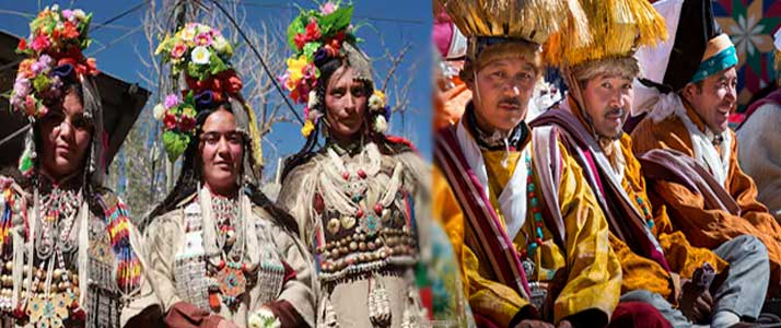 Ladakh Men and Women