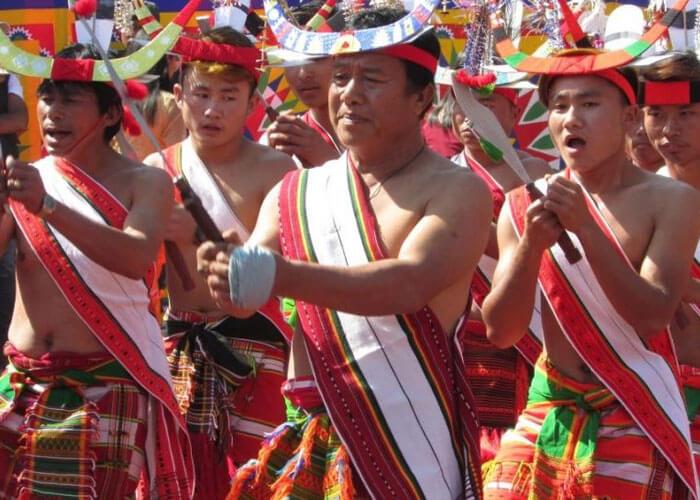 Manipur Population celebrating Chumpha
