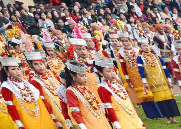Meghalaya Population in Shillong festival