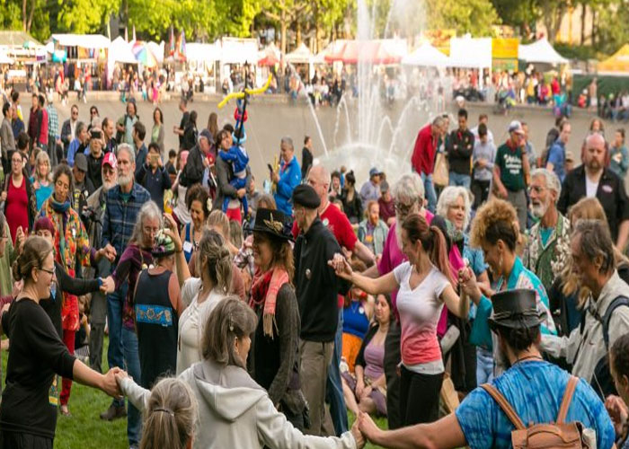 Washington Population at Northwest Folklife Festival